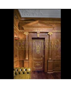 СЕНТЯБРЕВЪ дверь элитная из натурального дерева премиум класса