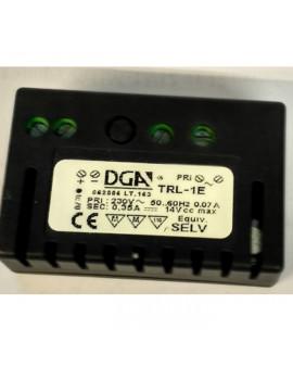 DGA  DRIVERS TRL-1E блок питания для led светильников на 350 mA